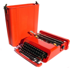 Olivetti Valentine and Case