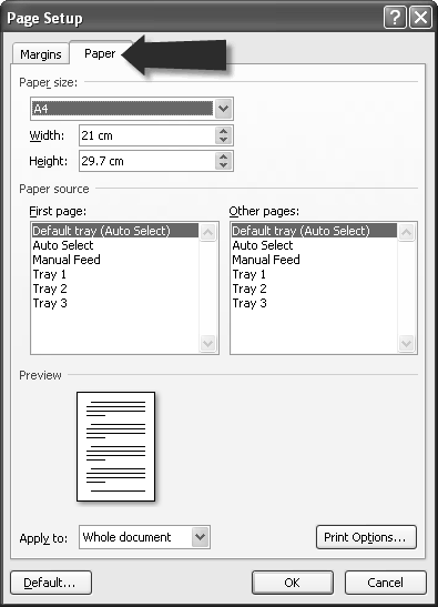 standard page setup for thesis How to format your thesis or dissertation standard and formatting toolbars on the same line select page setup 2 select the margins tab.