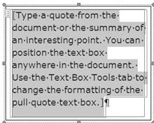 text box 5