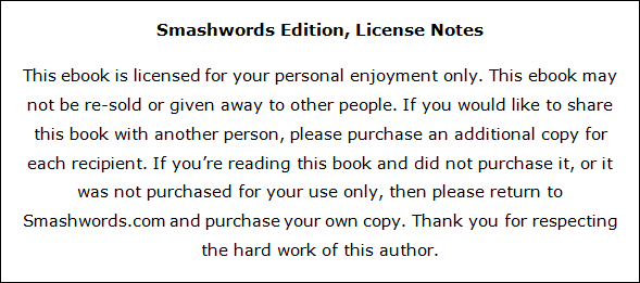 Format A Book With Word Formatting For Smashwords 5