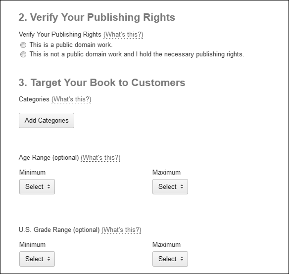 how to create a book in kindle format
